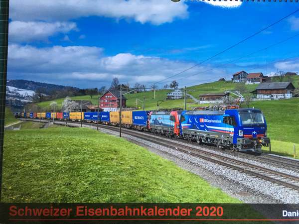 Eisenbahnkalender 2020